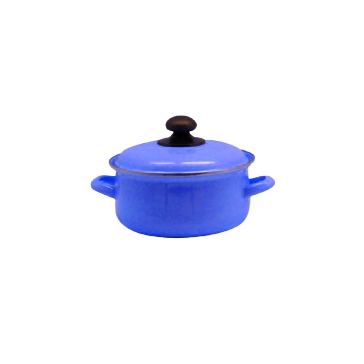Cacerola Enlozada Color Azulino 26cm